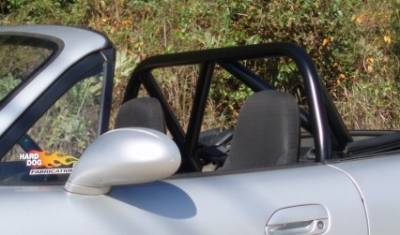 Interior / Safety - Roll Bars and Cages - Hard Dog  - Hard Dog Mazda Miata Roll Bar M2 Hard Core Hardtop