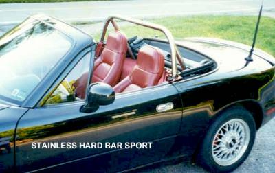 Interior / Safety - Roll Bars and Cages - Hard Dog  - Hard Dog Mazda Miata Roll Bar M1 Sport
