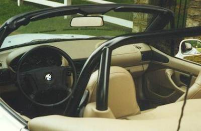 Interior / Safety - Roll Bars and Cages - Hard Dog  - Hard Dog BMW Z3 Roll Bar