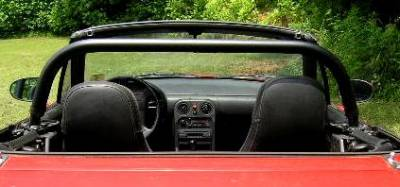 Interior / Safety - Roll Bars and Cages - Hard Dog  - Hard Dog Mazda Miata Hard Bar