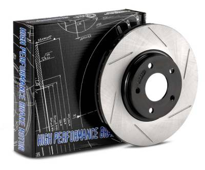 Featured Vehicles - StopTech - StopTech Cryo-SportStop Slotted Rotors Front Left Scion/ Subaru FR-S / BRZ