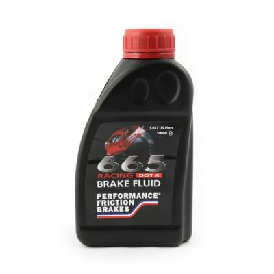 Braking - Brake Fluid - Performance Friction  - Performance Friction 025.0037 RH665 Brake Fluid (500ml) Bottle