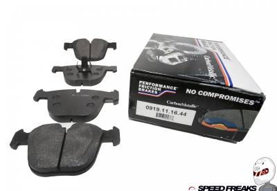 M Series - E9X M3 2008-2011 - Performance Friction  - Performance Friction Rear Brake Pads 0919.11.16.44 BMW M3 08+