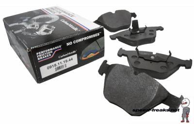 E82 1M 2011+ - Brake Pads - Performance Friction  - Performance Friction Front Brake Pads 0918.11.19.44BMW M3 08-13, 11 1M, 07-09 335