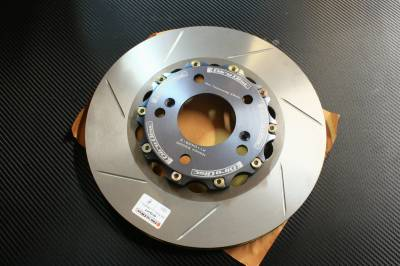 Brake Rotors Two-piece - Two-Piece Front Rotors - Girodisc - Girodisc A1-104S Honda S2000 Front 2-Piece Slotted Rotors