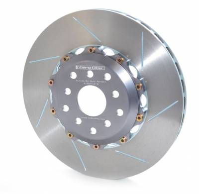 Brake Rotors Two-piece - Two-Piece Rear Rotors - Girodisc - Girodisc A2-017 Mercedes C63 AMG 2pc Floating Rear Rotor