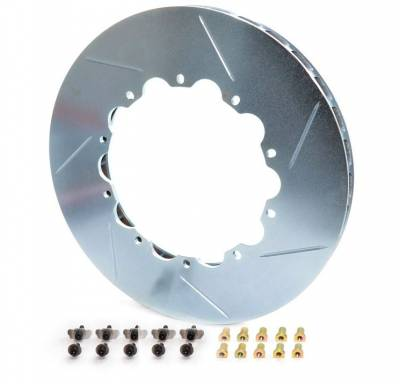 Brake Rotors Two-piece - Replacement Rings - Girodisc - Girodisc D2-128 Ferrari 458 Challenge Rear 2pc Rotor Ring