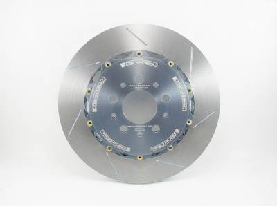 Brake Rotors Two-piece - Two-Piece Front Rotors - Girodisc - Girodisc A2-033 Porsche 997.1 Rear 2pc 340mm Floating Rotors