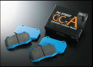 Shop by Category - Endless  - Endless CCA EP291 Brake Pads Mitsubishi Evo / Subaru WRX STI Rear