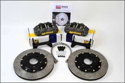 Subaru - WRX/STi - AP Racing - AP Racing Competition Big Brake Kit Subaru Impreza WRX STI