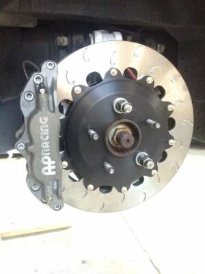Chevrolet - Corvette C5 - AP Racing - AP Racing Competition Rear Big Brake Kit (CP5040/340mm) Chevrolet C5 Corvette