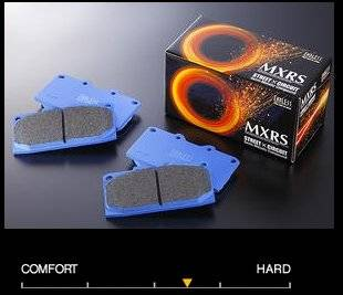 Featured Vehicles - Mazda - Endless  - Endless MXRS EP394 / EP395 Brake Pads Front/Rear Set Mazda Miata 02-05 w/ Sport Hard Suspension