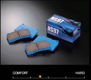 Miata (MX-5) - Miata (MX-5) 1.8L  - Endless  - Endless NS97 EP394 Brake Pads Front Mazda Miata w/ Sports Hard Suspension 02-05