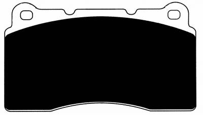 Featured Vehicles - Mitsubishi - Porterfield - Porterfield R4 AP1001 Brake Pad Front Mitsubishi Evolution / Subaru STI