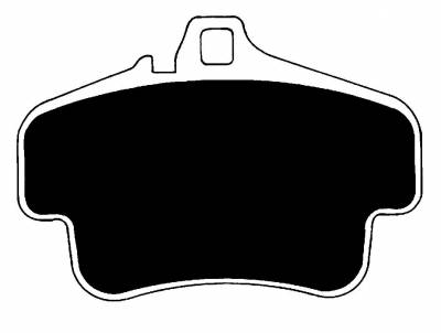 996 ('98-'05) - 996 Carrera S ('99-'05) - Porterfield - Porterfield R4-S AP776 Brake Pad Front Porsche