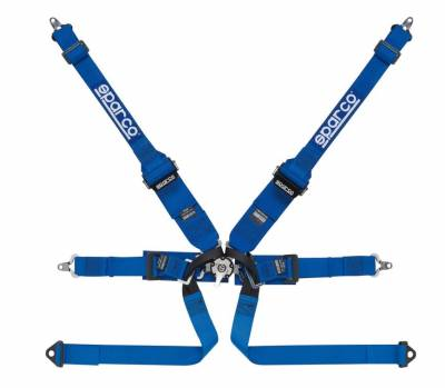 Safety Harness - 6 Point  - Sparco  - Sparco 6PT HANS Formula Harness