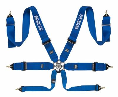 Safety Harness - 6 Point  - Sparco  - Sparco 6PT Harness