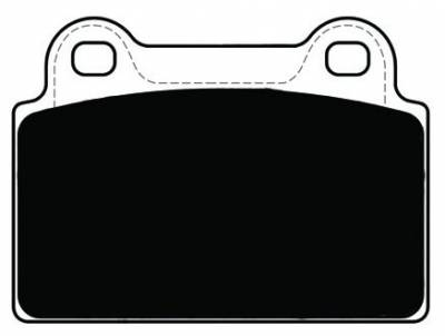 Featured Vehicles - Mitsubishi - Porterfield - Porterfield R4-S AP1368 Brake Pad Rear Mitsubishi Evo